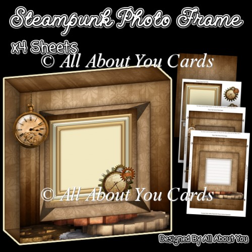 Steampunk Photo Frame - Click Image to Close