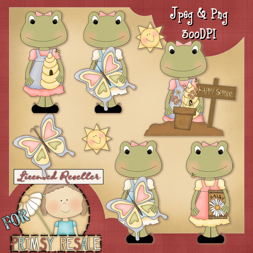 Spring Frogs Clip Art Download - Click Image to Close