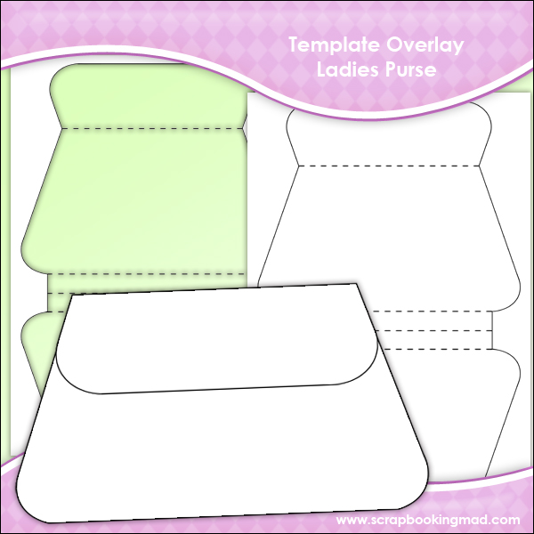 Template Overlay Ladies Purse Sheet - £0.83 : Scrapbookingmad.com
